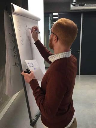 Adam Kelleher gives a Casual Data Science presentation at GoDataDriven