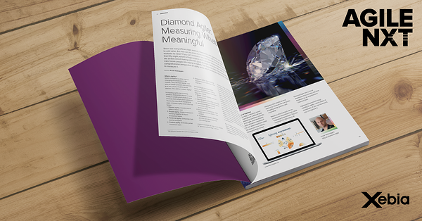 Diamond Agile Measuring What's Meaningful AGILE NXT Xebia