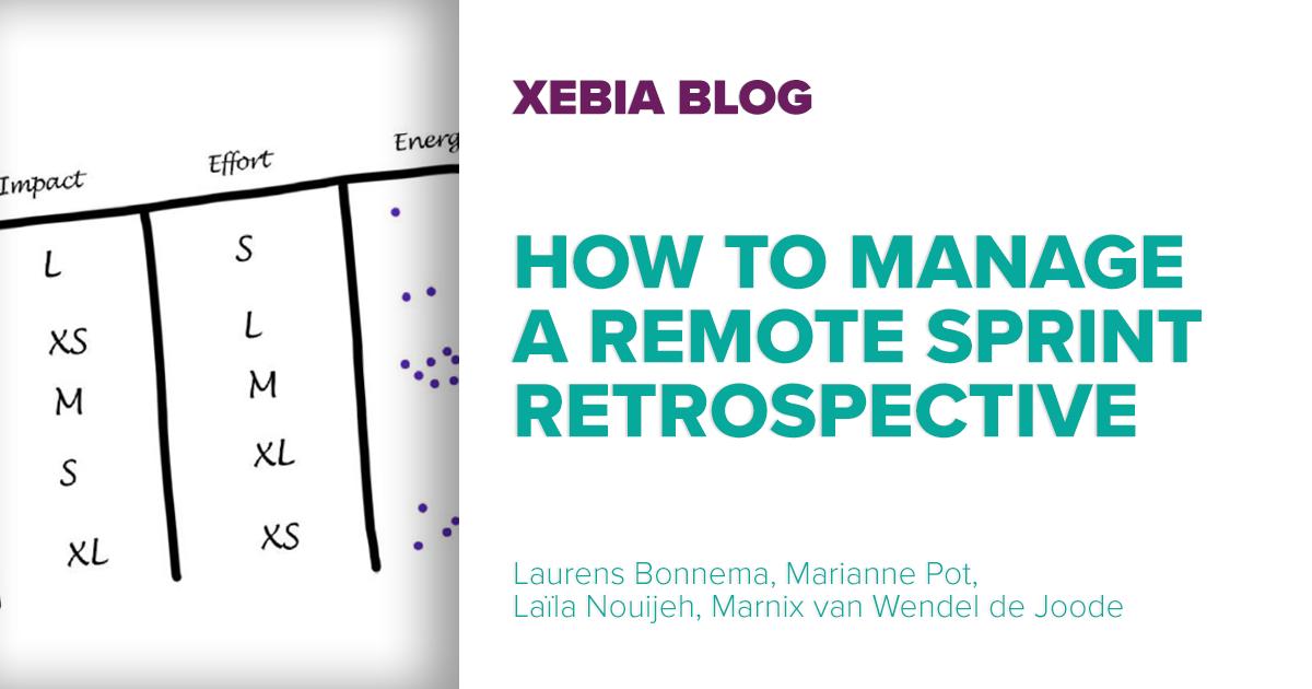 How to manage a Remote Sprint Retrospective v1