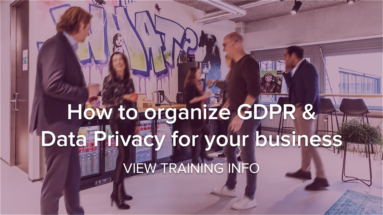 GDPR and Data Privacy training