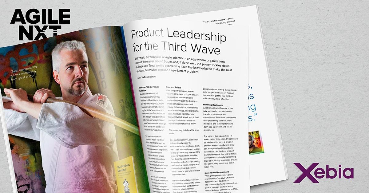 Agile Product Leadership Chris Lukassen Xebia