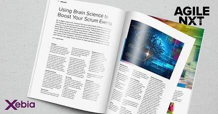 Agile NXT article Evelien Roos about Scrum and Brain Science