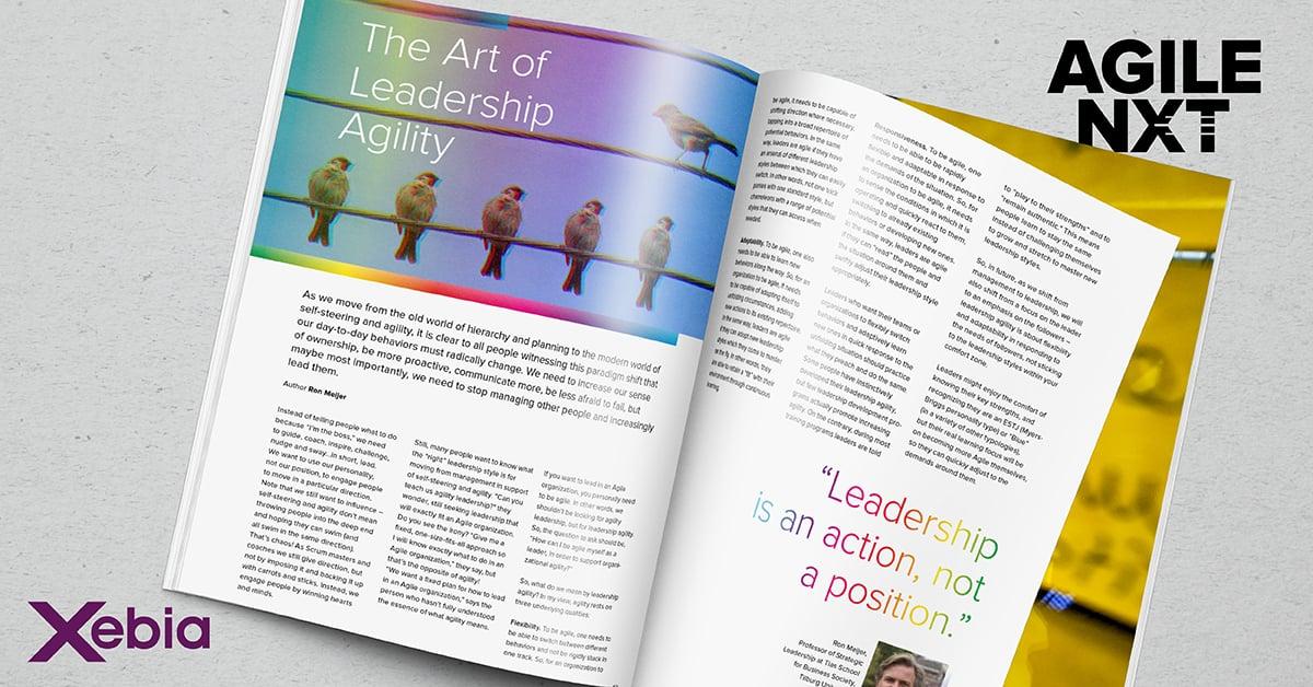 AGILE NXT Leadership and Agility